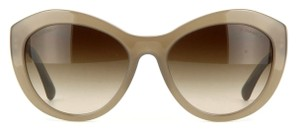 Chanel CHANEL 5294 Sunglasses Taupe Opal Lace with Brown Grad Lens color
