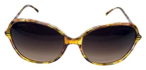 Chanel Chanel Yellow Brown with Brown Gradient lens Butterfly Sunglasses
