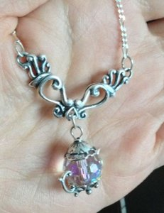 Other Crystal Teapot Necklace