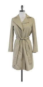 Theory Khaki Cotton Trench Trench Coat