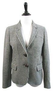 J.Crew Schoolboy Black and White Houndstooth Blazer