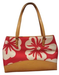 Kate Spade Tote in Red, white and tan