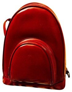 fb988e4a6771 Cartier Vintage Burgundy Rare Red Leather Backpack