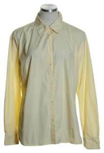 Gap Button Down Shirt Yellow