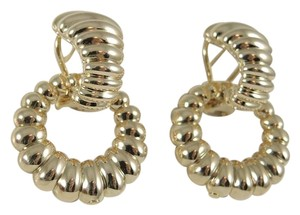 John Hardy John Hardy 18K Yellow Gold Bedeg Door Knocker Earrings