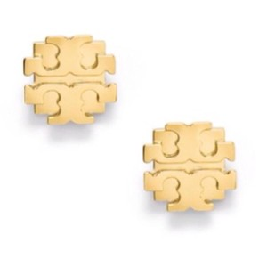 Tory Burch Small T Logo Stud Earring