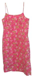 Lilly Pulitzer short dress Pink, white, & green on Tradesy