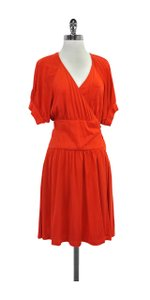 Diane von Furstenberg Silk Wrap Wrap Dress