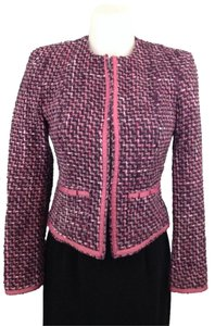 INC International Concepts Pink/black multicolor Blazer