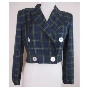 Valentino Navy, Green, Black Blazer