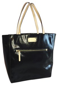 Kate Spade Tote in black with tan accents