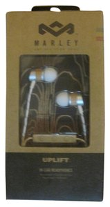House of Marley House of Marley Unisex Uplift Mic Drift In-Ear Headphones, White