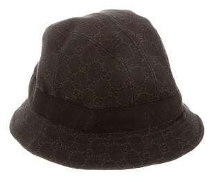 Gucci Chocolate brown GG canvas Gucci bucket hat