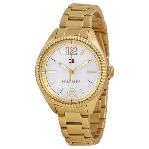 Tommy Hilfiger Tommy Hilfiger 1781520 Women's Gold Bracelet With White Dial