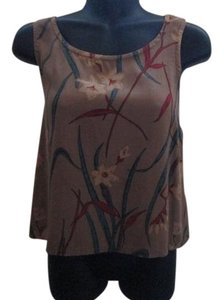 Chico's Silk Floral Blouse Formal Top Multicolored