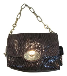 Mulberry Snakeskin Designer Shoulder Bag