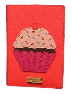 Kate Spade Take The Cake Imogene Passport Wallet Holder NWT Cupcake Multi