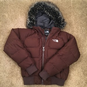 The North Face Winter Coat Down Brown Jacket