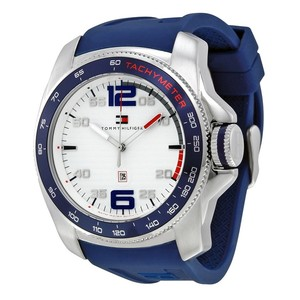 Tommy Hilfiger Tommy Hilfiger 1790855 Men's Blue Bracelet With White Dial