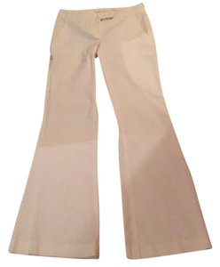 Theory Boot Cut Pants White
