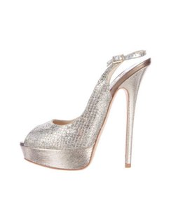 Jimmy Choo Champagne/silver Sandals