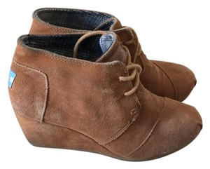 TOMS Brown Wedges