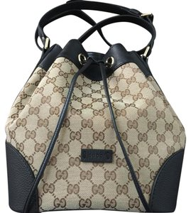 Gucci Two-tone Shoulder Bag