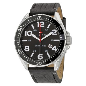 Tommy Hilfiger Tommy Hilfiger 1791131 Men's Black Bracelet With Black Dial