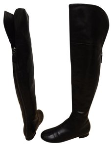 Vera Wang Lavender Label Leather black Boots