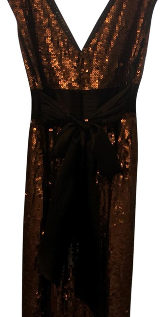 Item - Taupe/Brown Sequin Short Cocktail Dress Size 6 (S)