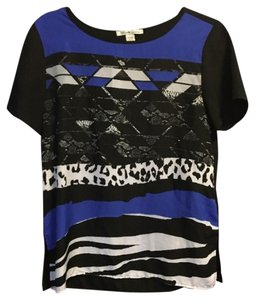 Kenneth Cole Top Black and Blue