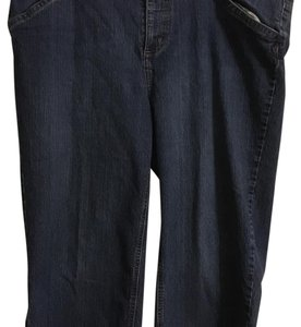 Faded Glory Capris Blue Denim