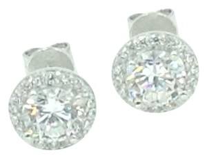 Other .925 Sterling Silver Cubic Zirconia Stud Earrings