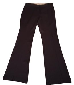 Elie Tahari Boot Cut Pants Brown with light pinstriping