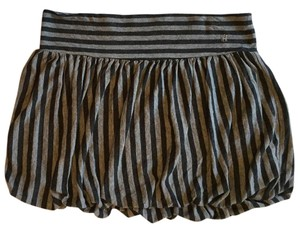 Old Navy Bubble Mini Sexy Striped Mini Skirt