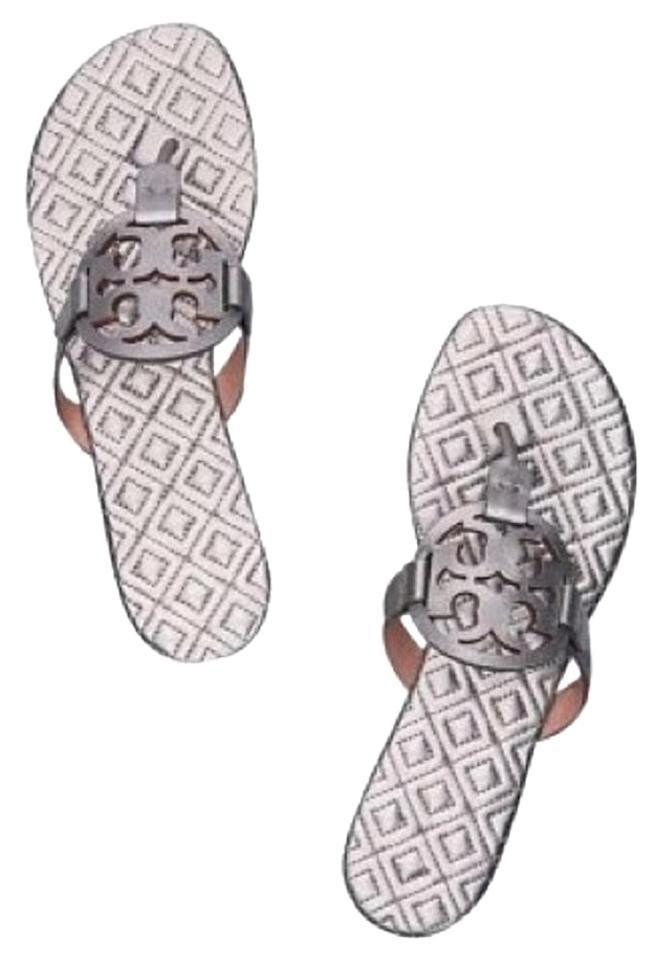 Tory Silver Burch Silver Tory Marion Quilted Miller Sandals daf32c