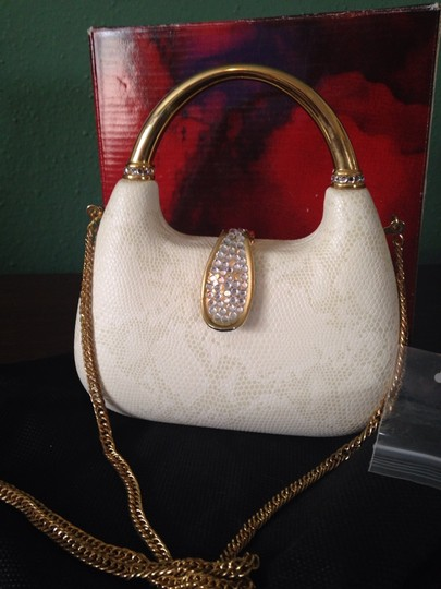 Other Satchel in Ivory Snake Leather