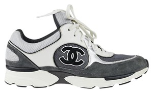 Chanel White/Grey Athletic