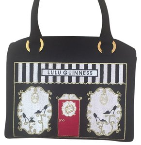 Lulu Guinness Satchel in Black