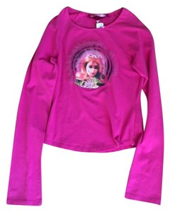 Voyage Passion Barbie Print Made In Italy T Shirt Pink