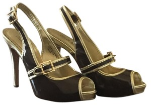 Colin Stuart Brown and Gold Pumps