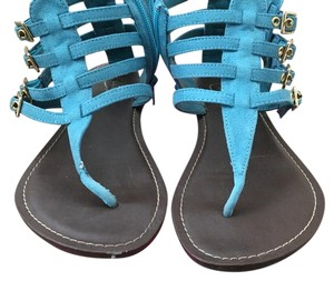 Candie's Turquoise Sandals