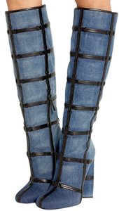 Tom Ford Knee High DENIM Boots