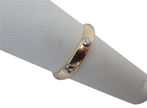 Cartier 18K Yellow Gold and diamond Ring sz6
