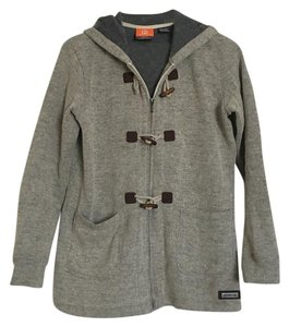 Merrell Coat Toggle Buttons Cozy Fleece Sweater