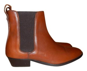 Burberry Leather Brown (Chestnut) Boots