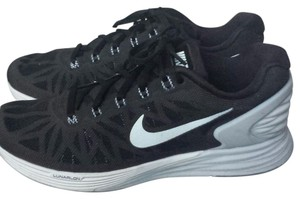 Nike Lunarglides Sneakers Black, Grey, White Athletic