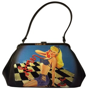 Isabella Fiore Satchel in Pin Up