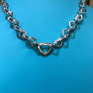 Tiffany & Co. Tiffany And Company 18 Karat Yellow Gold And Sterling Silver 16