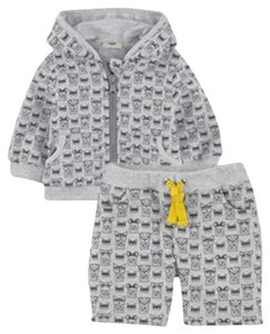 Fendi Baby Boy Sweatsuit + Tee